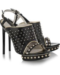 Jason Wu - Marlene Studded Leather Sandals - Lyst