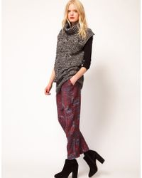 See By Chloé See By Chloe Berlin Print Silk Pants - Lyst