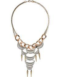 Topshop Crescent Collar - Lyst