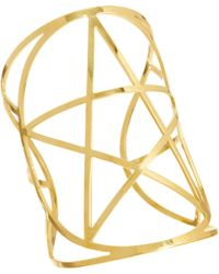 Pamela Love Mini Pentagram Goldtone Cuff - Lyst