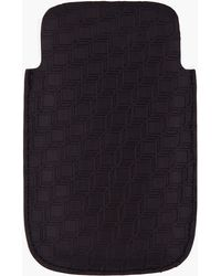 Pierre Hardy - Black Leather Cube Print Cell Phone Case - Lyst