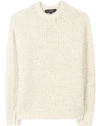 Isabel Marant Quena Chunky Wool Sweater - Lyst