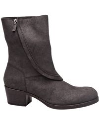 Alexandre Plokhov - Zip Leather Boot - Lyst