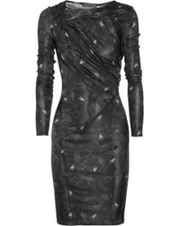 Aminaka Wilmont Printed Jersey Dress - Lyst