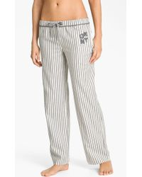 DKNY Pattern Play Flannel Pajama Pants - Lyst
