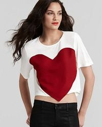 Laugh Cry Repeat -  Heart Tee - Lyst