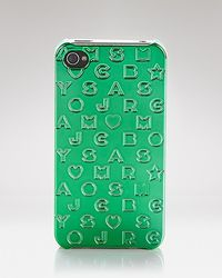 Marc By Marc Jacobs Iphone Case Stardust Logo - Lyst