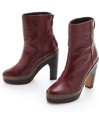 Rag & Bone Newbury Platform Boots - Lyst