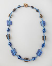 Stephen Dweck - Knotted Long Multistone Necklace  - Lyst