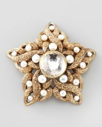 Stephen Dweck - Pearldetailed Star Brooch White - Lyst