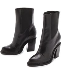 Theyskens' Theory Taylor Boots - Lyst