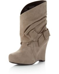 Vera Wang Lavender - Fletch Wrap Around Ankle Boot - Lyst