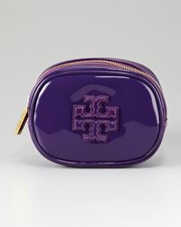 Tory Burch Bombe Small Cosmetic Case - Lyst