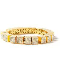 Eddie Borgo | Small Pave Cube Bracelet | Lyst