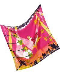 Juicy Couture - La Silk Square Scarf - Lyst