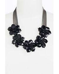 Cara Accessories Statement Necklace black - Lyst