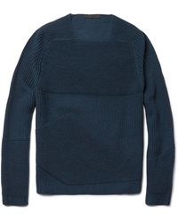 Alexander Wang Ottoman Ribbed Merino Wool Sweater - Lyst