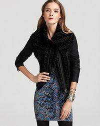Free People Coat Fancy Lady Faux Fur - Lyst