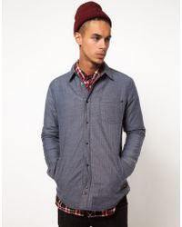 KR3W | Quilted Reversible Overshirt | Lyst
