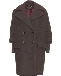 Marc By Marc Jacobs Bex Oversized Wool Coat - Lyst