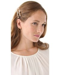 Marc By Marc Jacobs - Bow Id Big Bobby Pins - Lyst
