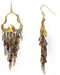 Alexis - Bittar Siyabona Sunset Gold Cluster Earrings - Lyst