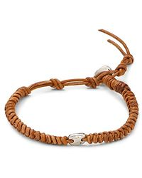 Chan Luu - Leather Knot Bracelet - Lyst