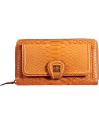 Givenchy Python Nightingale Long Zip Around Wallet - Lyst