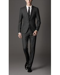 Burberry Slim Fit Wool Suit - Lyst