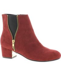 River Island Zip Side Ankle Boots - Lyst