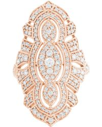 Stone - Diamond Pink Gold Tess Ring - Lyst