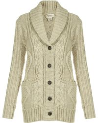 Denim & Supply Ralph Lauren - Boyfriend Cable Knit Cardigan - Lyst