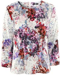 H&M Off-The-Shoulder Top multicolor - Lyst