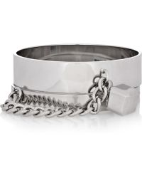 Marc By Marc Jacobs   Collars and Cuffs Silver-Tone Bracelets   Lyst