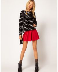 ASOS Collection Asos Skirt in Skater Style - Lyst