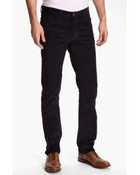 Theory Haydin Represent Slim Straight Leg Corduroy Pants - Lyst