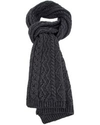 Vanessa Bruno Athé - Cable Knit Scarf - Lyst