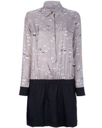 Victoria, Victoria Beckham Collar Dress - Lyst