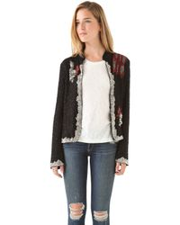 April, May - Drea Sequin Dragon Jacket - Lyst