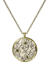 Me&Ro - Engraved Paisley Ivory Disc - Lyst