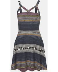 Topshop Baja Harness Dress - Lyst