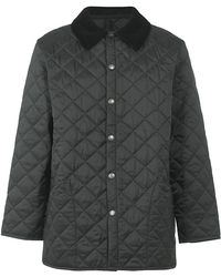 Barbour Sea Ariel Quilted Moto Jacket With Elbow Patches