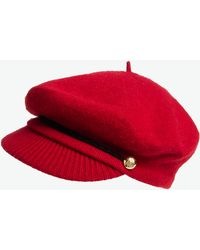 Lauren by Ralph Lauren Greek Fisherman Hat red - Lyst