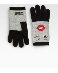 Moschino - Wink Gloves - Lyst