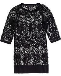 Isabel Marant Calico Lace Top black - Lyst