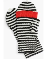 Kate Spade Big Apple Convertible Mittens - Lyst