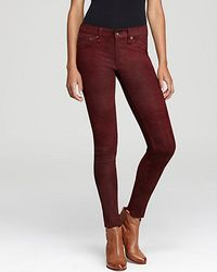 Rag & Bone Pants The Leather Skinny Slim - Lyst