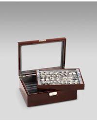 Ravi Ratan - Oak Cuff Link Armoire, Mahogany - Lyst