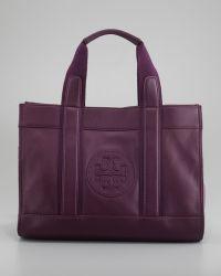 Tory Burch Tory Tote Bag True Violet - Lyst