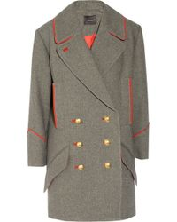 Isabel Marant David Oversized Wool and Cottonblend Coat - Lyst